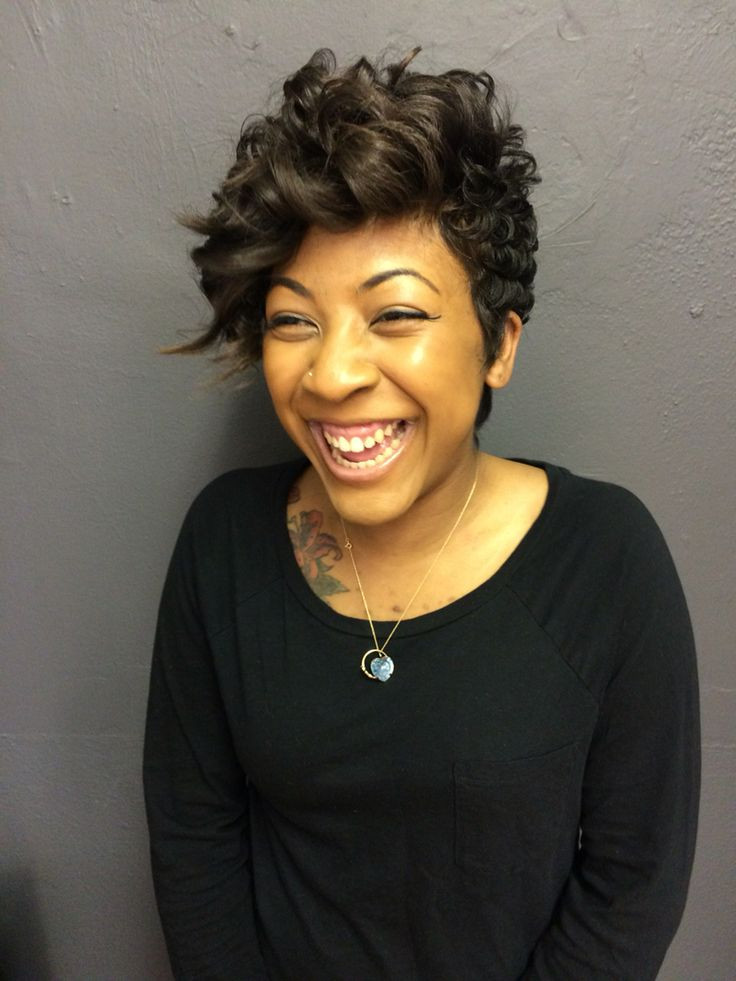 short textured hairstyles for black hair lovely 58 best short hairstyles for black women and women with of short t1