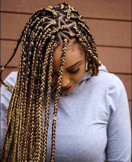 triangle part braids