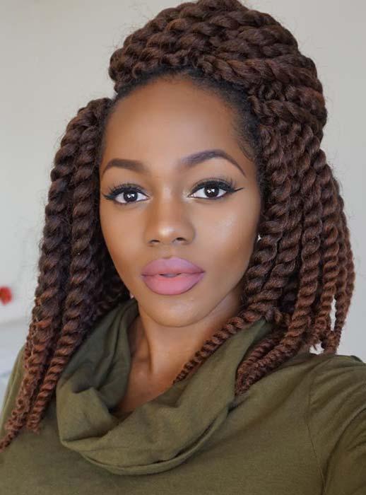 twist braids hairstyles 6