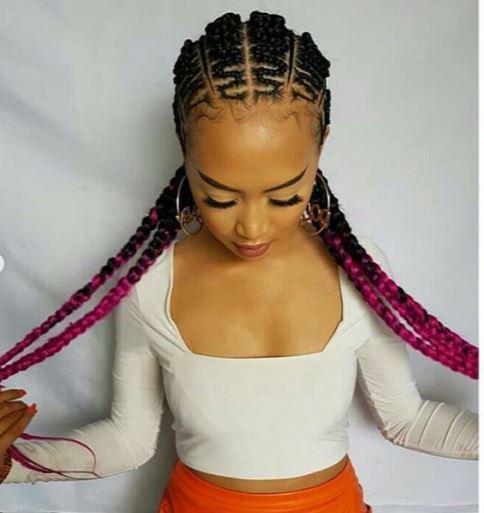 zig zag weaving hairstyles 2