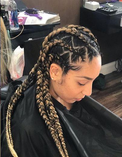 zig zag weaving hairstyles 5