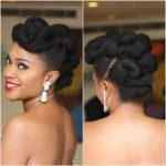 200+ Photo Gorgeous Black Updos, Buns and Wedding Hairstyles !