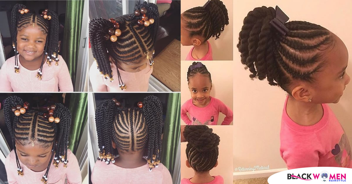 The Most Beautiful Hairstyles Will Relax Your Children In The Summer Season