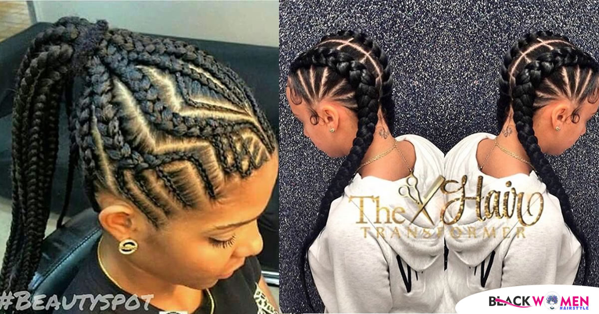 We Added Feed In Braids To The Ghana Braids Passion, 330+ Super Ideas