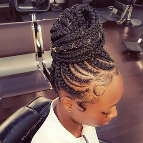 Time to Revive Ghana Braids Passion, Over +170 Ideas