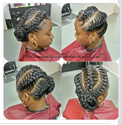 Great Touches For Your Hair With Seductive Ghana Braids Designs
