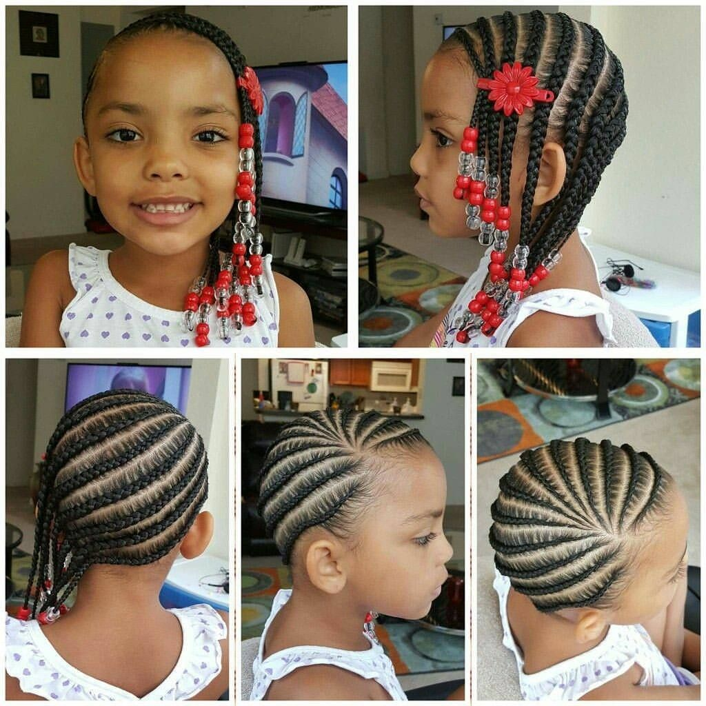 Black Beauty Ghana Braids Hairstyles with Magic Touches to Help You Challenge
