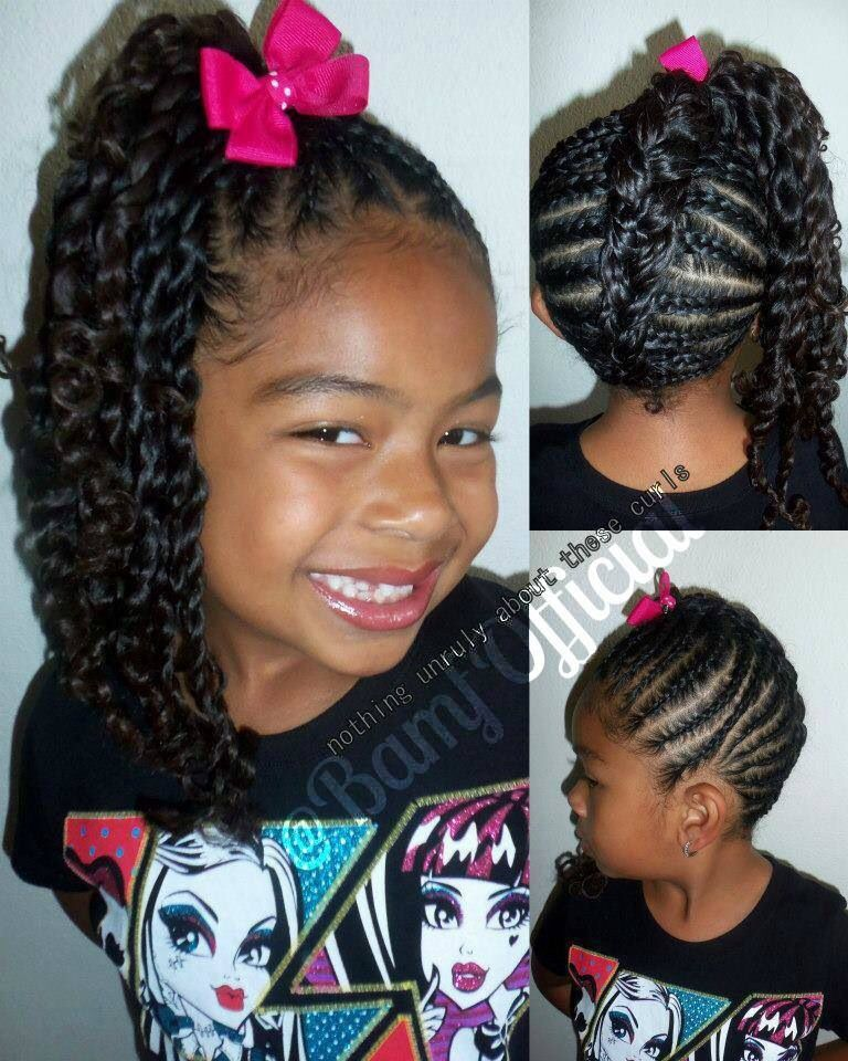 There Can Be No More Beautiful Hairstyles For Little Princesses Going to Kindergarten