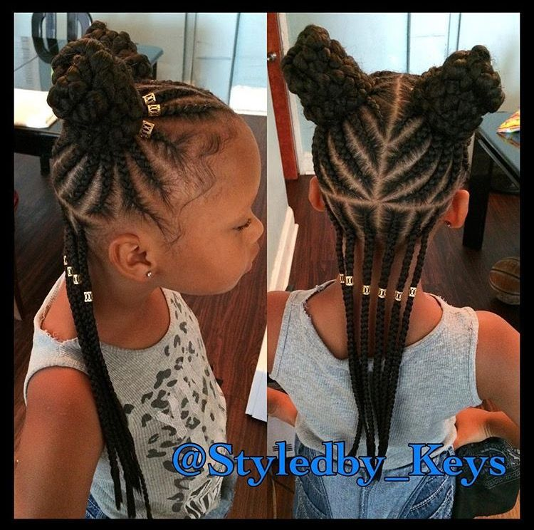 Strong and Aesthetic Appearance with Popular Ghana Braids Hairstyles