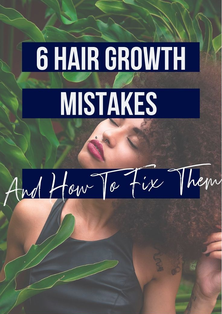 6 hair growth mistakes and how to fix them  6 bad hair habits that cause hair breakage