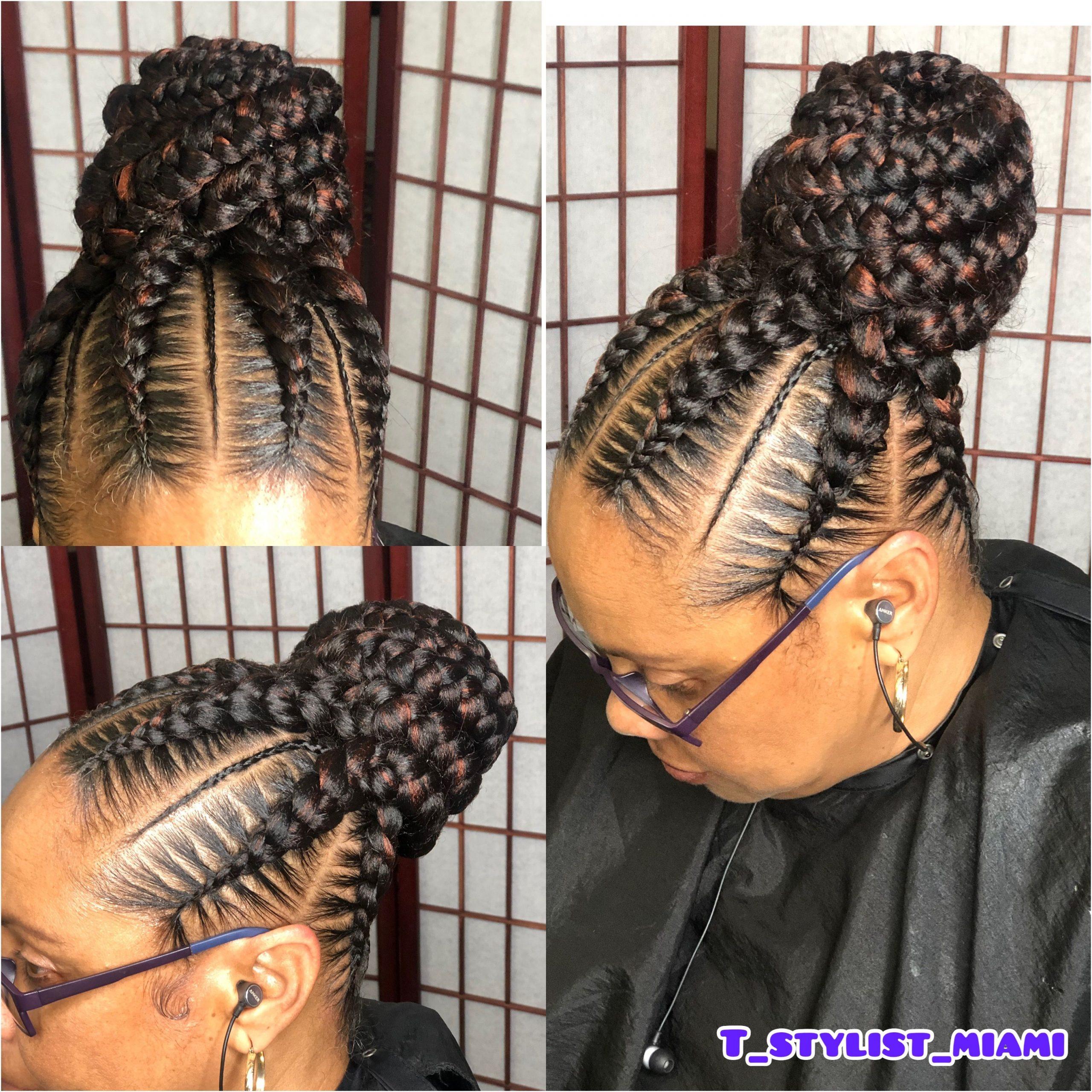 Hair Braid Models Preferred by Brides This Year in Nigeria and Ghana Weddings