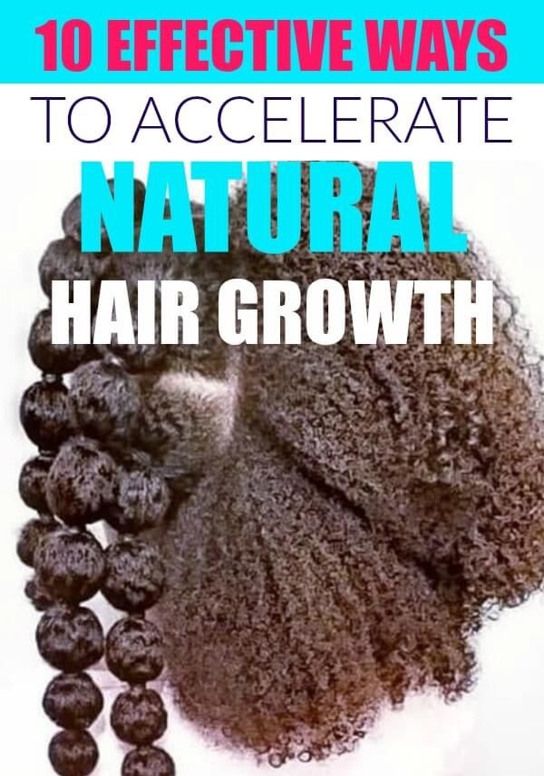 Natural Hair Growth Acceleration