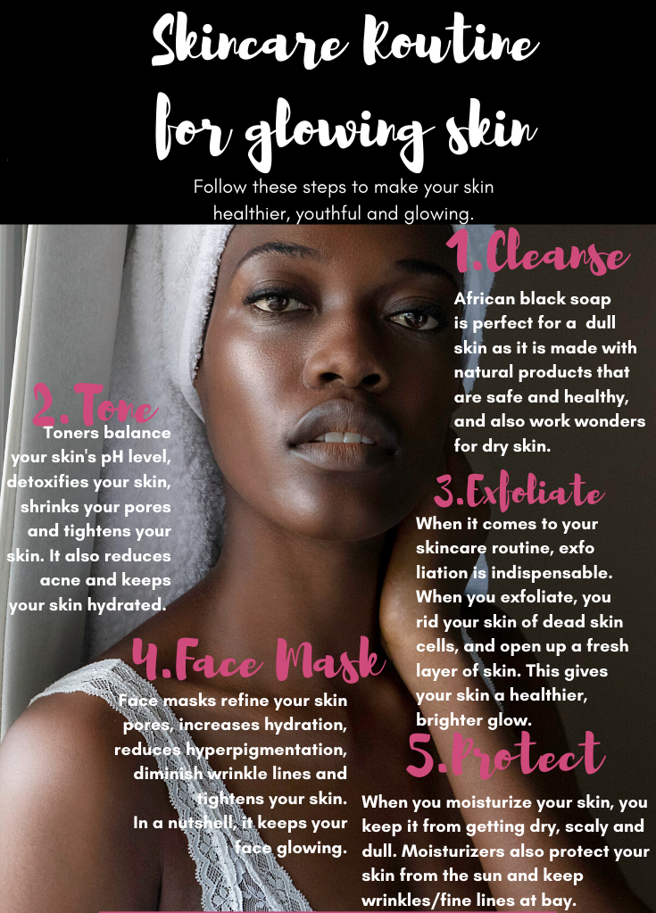 Skincare routine   How to get glowing skin