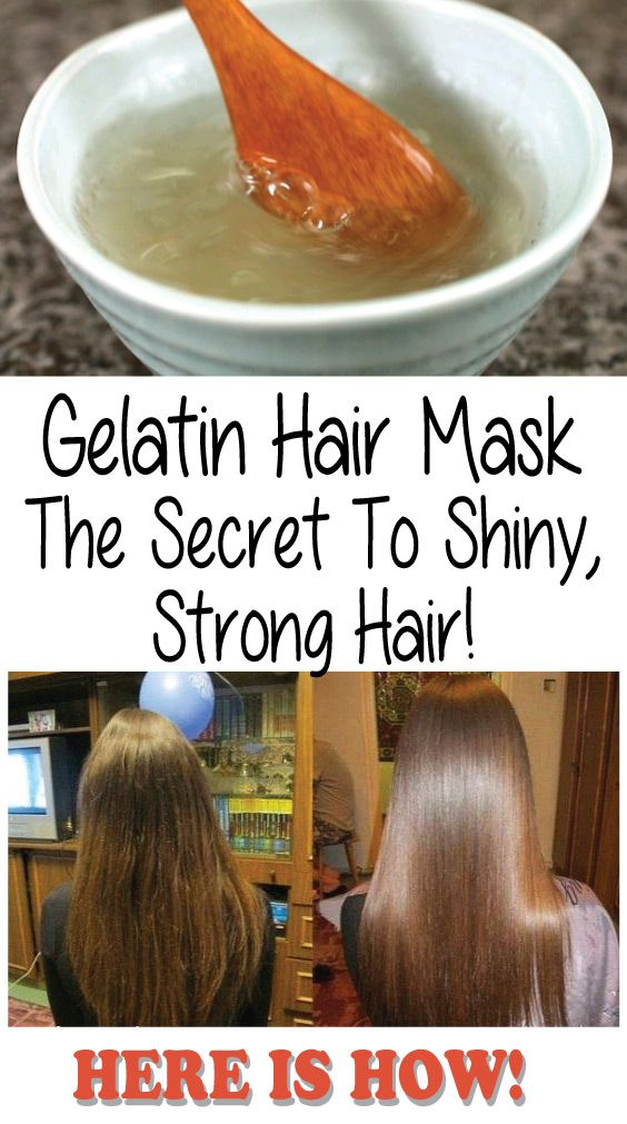 Get Your Dream Hair With Gelatin Powder Mask