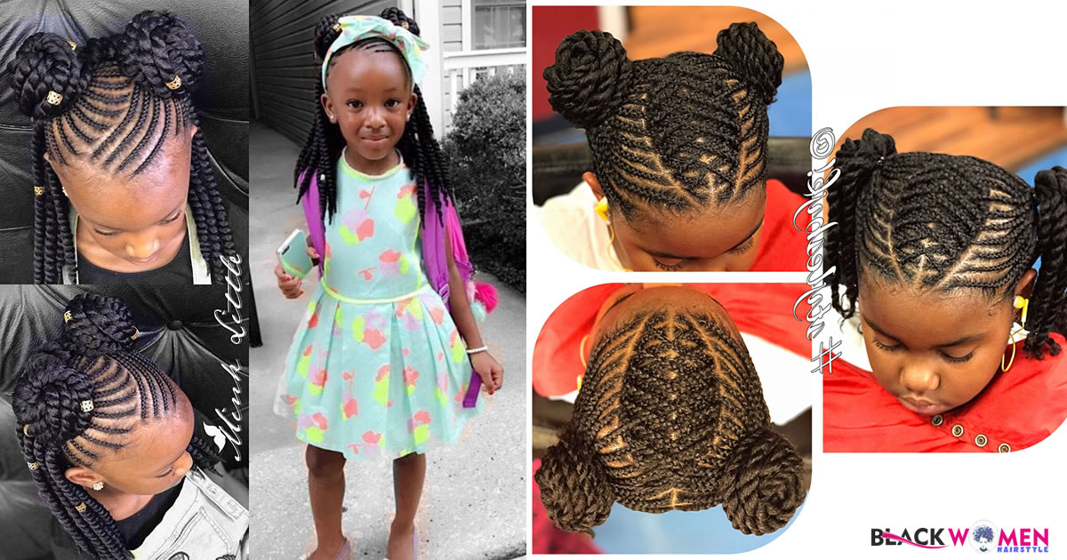 With These Hairstyles, Little Princesses Will Be The Brightest Star Of The School Show