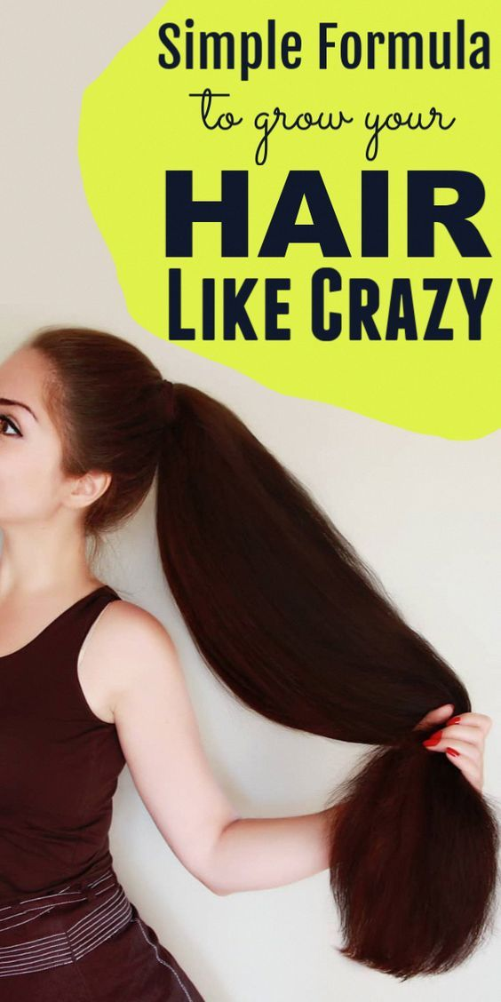 Your Hair Will Grow Like Crazy With This Formula