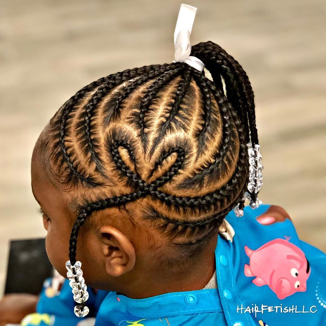 Gorgeous Braids Made in a Short Time for Children with Short Hair