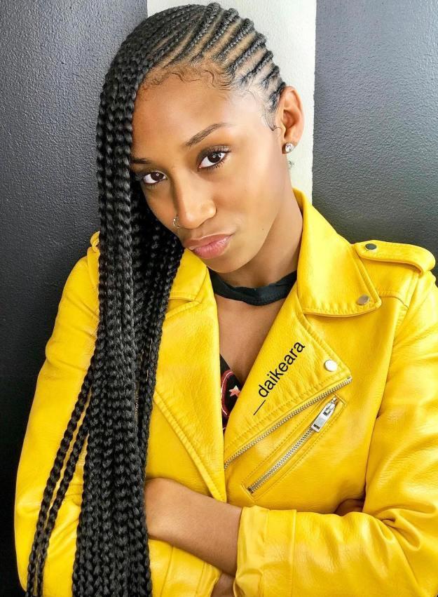 4 classic style lemonade braids