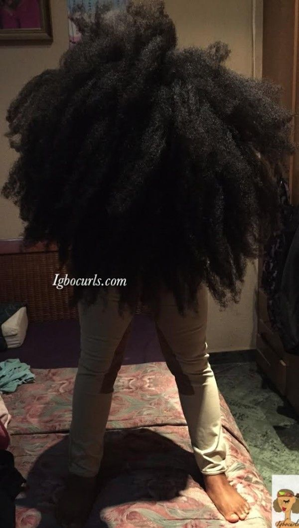 Chinwe from Nigeria Type 4 Natural Hair Icon