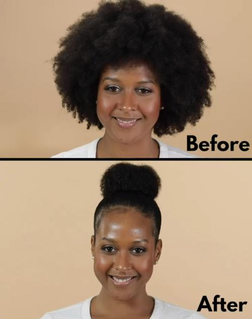 High Hair Knob Made Easy to Fluffy Hair