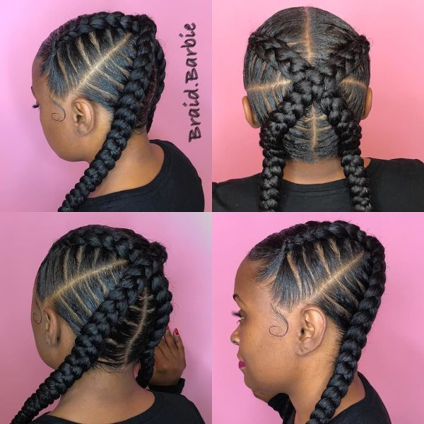 Which Make-Up Fits With Ghana Hair Braids in Summer?