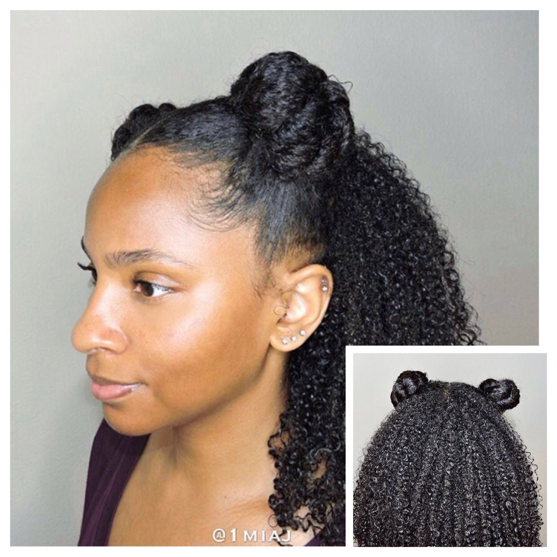 10 Different Hairstyles To Make Your Twist Out Last Longer Kinky Hair Rocks 8