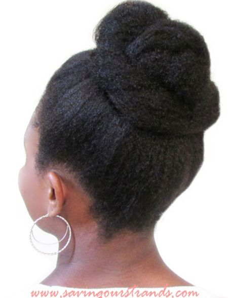 10 braided chignon updo hairstyle for black women