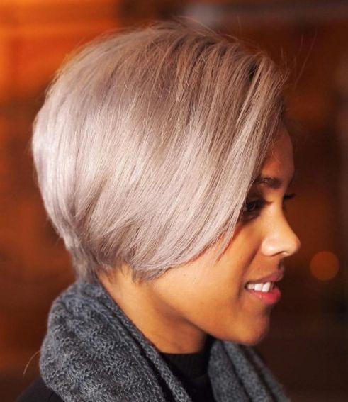 11 African American long blonde