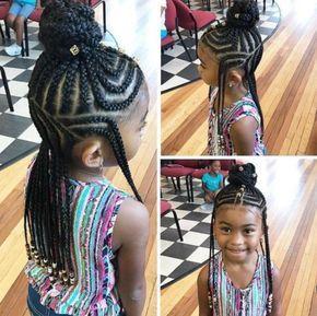 11 Little Girls Rocking Fulani Inspired Braid Styles Tutorial Emily CottonTop