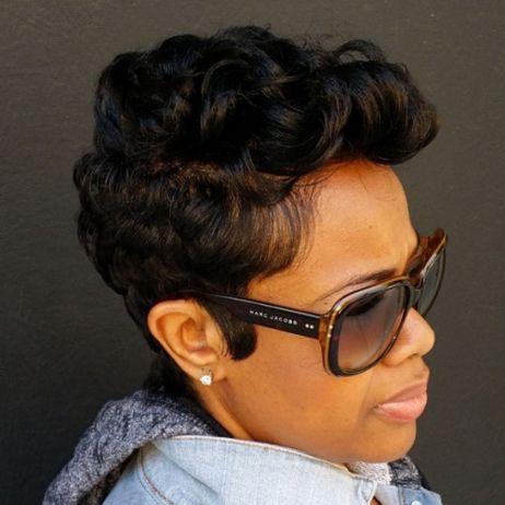 11 black curly