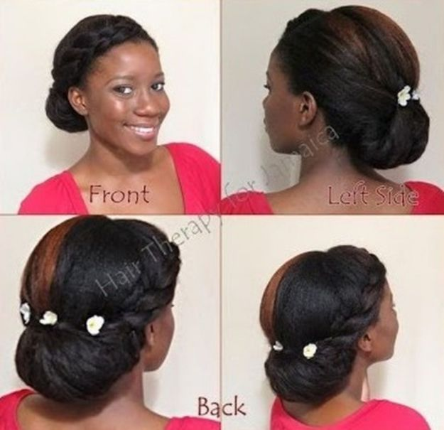 13 side fro updo hairstyle