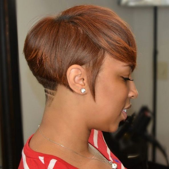 14 short tapered hairstyle for black women