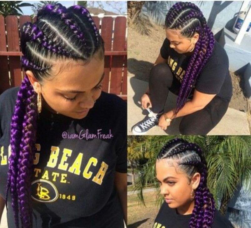 1501690354 3316 Purple Ghana Braids
