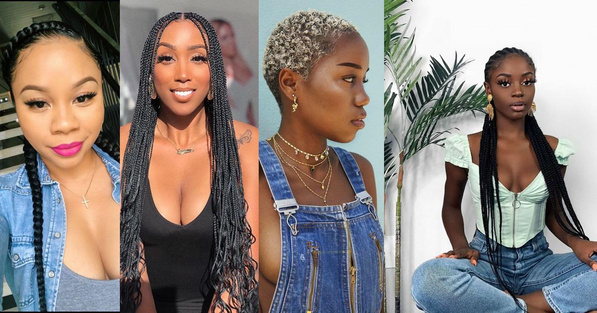 180 Pampering Ghana Braids Hair Style Awaits You