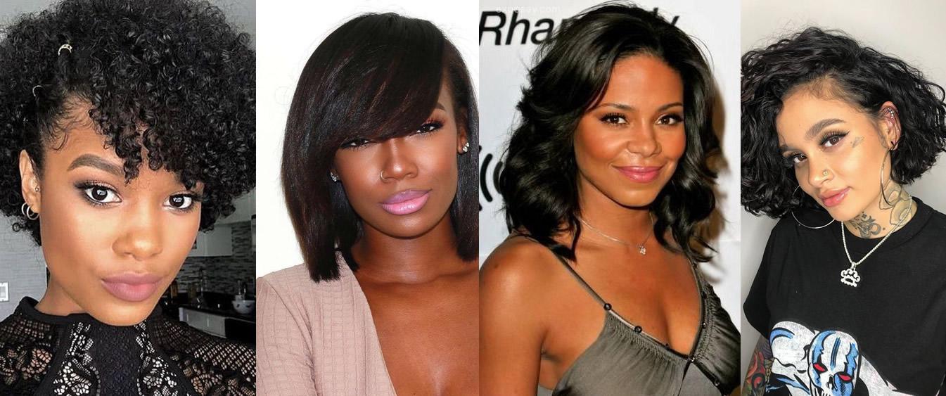 20 Best Medium Length Hairstyles Haircuts For Black Women