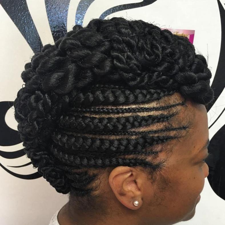 20 Totally Gorgeous Ghana Braids for an Intricate Hairdo 1