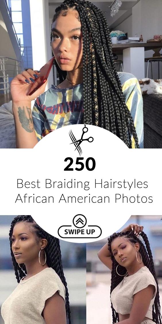 250 Best Braiding Hairstyles African American Photos 2