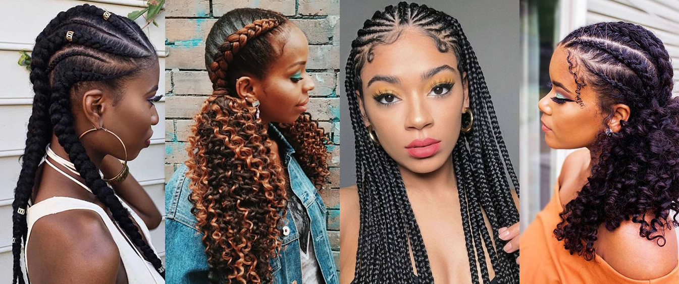 280 Chic Cornrow Braid Hairstyles That You Need To Try