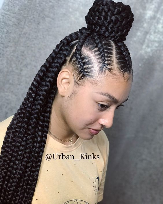 40 BEAUTIFUL BRAIDED UPDOS FOR BLACK WOMEN 1