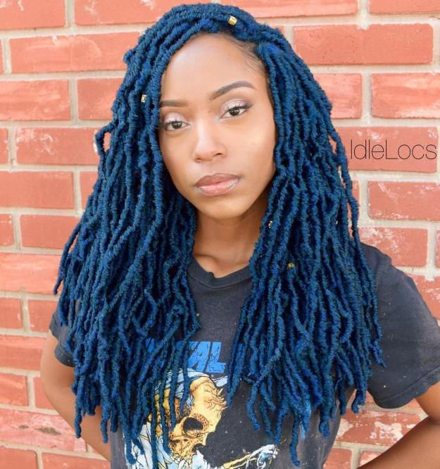 40 Fabulous Funky Ways to Pull Off Faux Locs 14