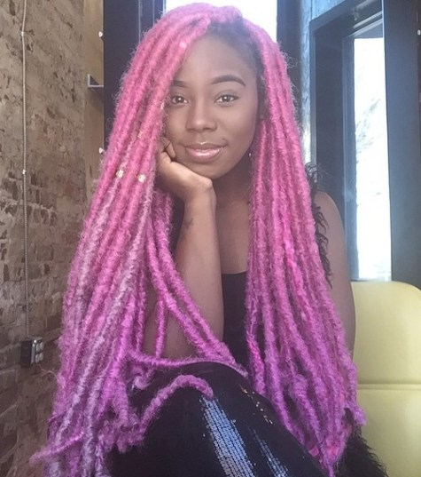 40 Fabulous Funky Ways to Pull Off Faux Locs 26