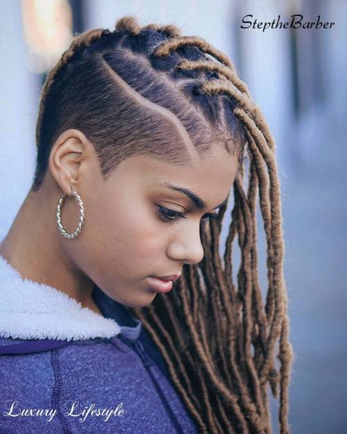 40 Fabulous Funky Ways to Pull Off Faux Locs 3