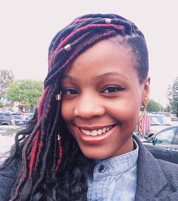 40 Fabulous Funky Ways to Pull Off Faux Locs 37