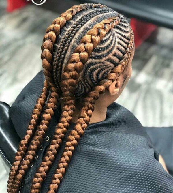 42 Catchy Cornrow Braids Hairstyles Ideas to Try in 2019 Bored Art 13