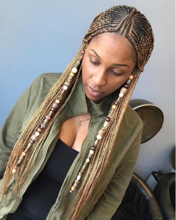 42 Catchy Cornrow Braids Hairstyles Ideas to Try in 2019 Bored Art 2