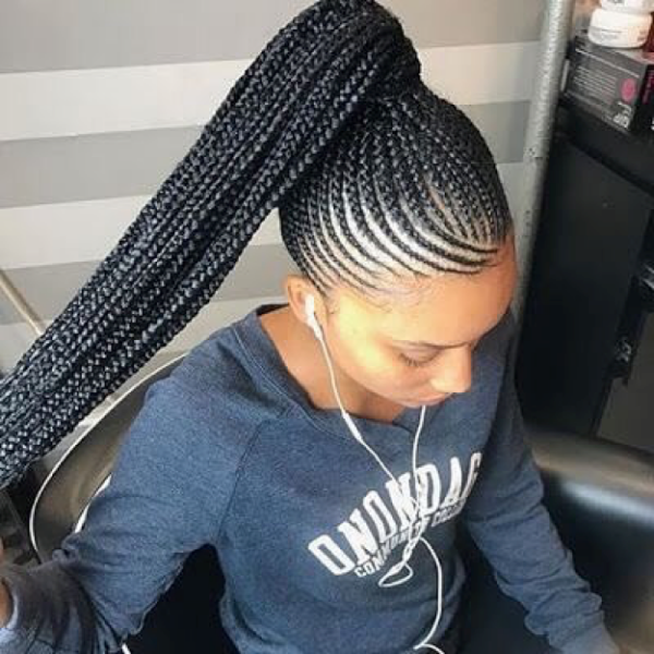 42 Catchy Cornrow Braids Hairstyles Ideas to Try in 2019 Bored Art 22