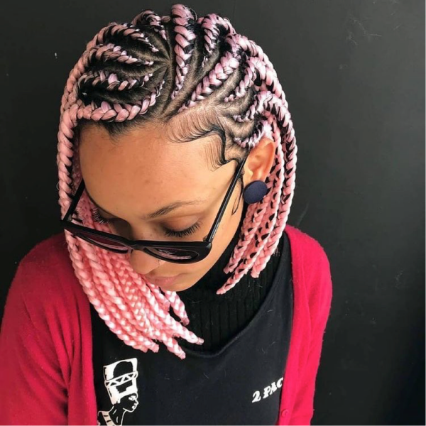 42 Catchy Cornrow Braids Hairstyles Ideas to Try in 2019 Bored Art 25