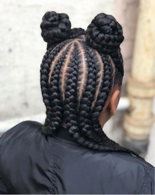 42 Catchy Cornrow Braids Hairstyles Ideas to Try in 2019 Bored Art 28