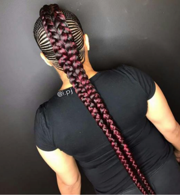 42 Catchy Cornrow Braids Hairstyles Ideas to Try in 2019 Bored Art 30