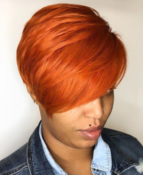 5 bright orange red